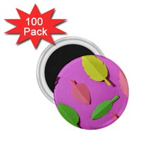Leaves Autumn Nature Trees 1 75  Magnets (100 Pack)  by Celenk
