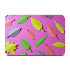 Leaves Autumn Nature Trees Plate Mats by Celenk