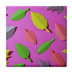 Leaves Autumn Nature Trees Face Towel by Celenk