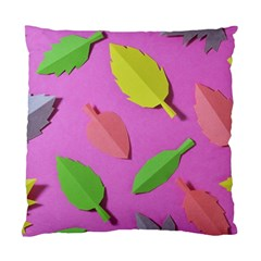 Leaves Autumn Nature Trees Standard Cushion Case (one Side) by Celenk
