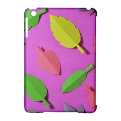 Leaves Autumn Nature Trees Apple Ipad Mini Hardshell Case (compatible With Smart Cover) by Celenk
