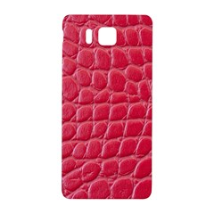 Textile Texture Spotted Fabric Samsung Galaxy Alpha Hardshell Back Case by Celenk
