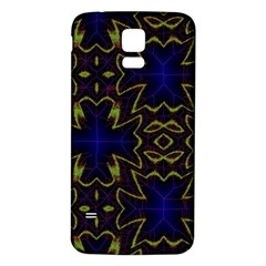 Background Texture Pattern Samsung Galaxy S5 Back Case (white) by Celenk