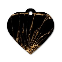 Background Abstract Structure Dog Tag Heart (one Side) by Celenk