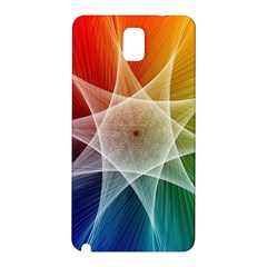 Abstract Star Pattern Structure Samsung Galaxy Note 3 N9005 Hardshell Back Case by Celenk