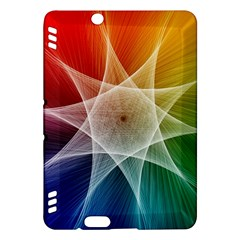 Abstract Star Pattern Structure Kindle Fire Hdx Hardshell Case by Celenk