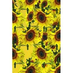 Sun Flower Pattern Background 5 5  X 8 5  Notebooks by Celenk
