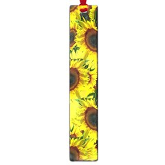 Sun Flower Pattern Background Large Book Marks by Celenk
