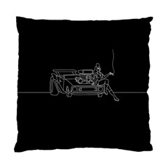 Arctic Monkeys Standard Cushion Case (one Side) by Valentinaart