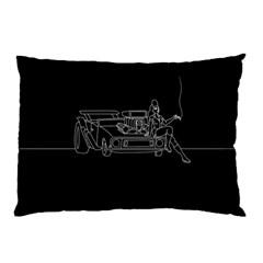 Arctic Monkeys Pillow Case by Valentinaart