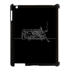 Arctic Monkeys Apple Ipad 3/4 Case (black) by Valentinaart