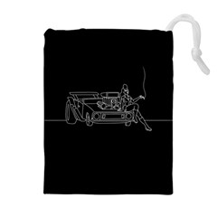 Arctic Monkeys Drawstring Pouches (extra Large) by Valentinaart