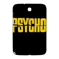 Psycho  Samsung Galaxy Note 8 0 N5100 Hardshell Case  by Valentinaart