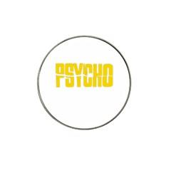 Psycho  Hat Clip Ball Marker by Valentinaart