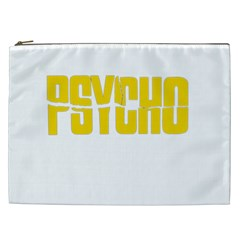 Psycho  Cosmetic Bag (xxl)  by Valentinaart