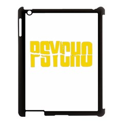 Psycho  Apple Ipad 3/4 Case (black) by Valentinaart