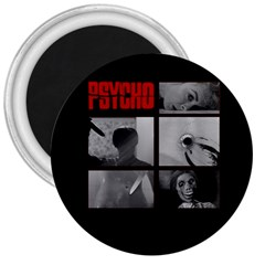 Psycho  3  Magnets by Valentinaart