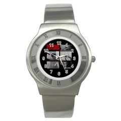 Psycho  Stainless Steel Watch by Valentinaart