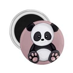 Cute Panda 2 25  Magnets by Valentinaart