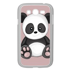 Cute Panda Samsung Galaxy Grand Duos I9082 Case (white) by Valentinaart