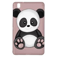 Cute Panda Samsung Galaxy Tab Pro 8 4 Hardshell Case by Valentinaart