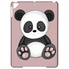 Cute Panda Apple Ipad Pro 9 7   Hardshell Case by Valentinaart