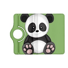 Cute Panda Kindle Fire Hd (2013) Flip 360 Case by Valentinaart