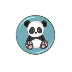 Cute Panda Hat Clip Ball Marker (4 Pack) by Valentinaart