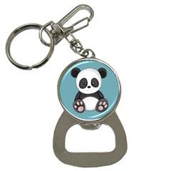 Cute Panda Button Necklaces by Valentinaart
