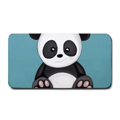 Cute Panda Medium Bar Mats by Valentinaart
