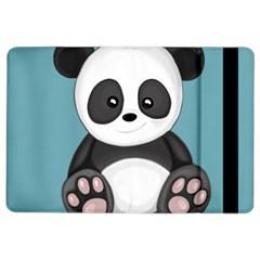 Cute Panda Ipad Air 2 Flip by Valentinaart