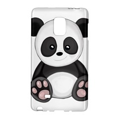 Cute Panda Galaxy Note Edge by Valentinaart