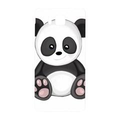 Cute Panda Samsung Galaxy Alpha Hardshell Back Case by Valentinaart