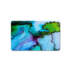 Abstract Painting Art Magnet (name Card) by Celenk