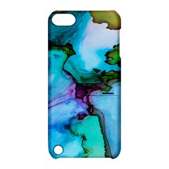 Abstract Painting Art Apple Ipod Touch 5 Hardshell Case With Stand by Celenk