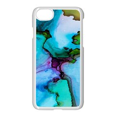 Abstract Painting Art Apple Iphone 8 Seamless Case (white) by Celenk