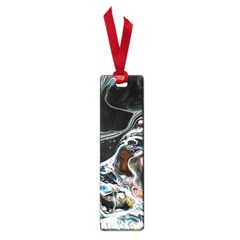 Abstract Flow River Black Small Book Marks