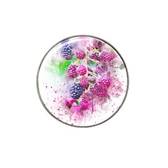 Blackberry Fruit Art Abstract Hat Clip Ball Marker (10 Pack) by Celenk