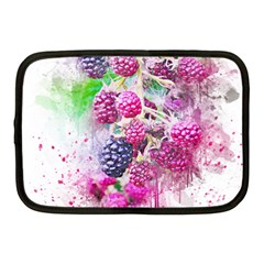 Blackberry Fruit Art Abstract Netbook Case (medium)  by Celenk