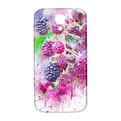 Blackberry Fruit Art Abstract Samsung Galaxy S4 I9500/i9505  Hardshell Back Case by Celenk