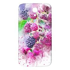 Blackberry Fruit Art Abstract Samsung Galaxy Mega I9200 Hardshell Back Case by Celenk