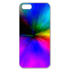 Creativity Abstract Alive Apple Seamless Iphone 5 Case (clear) by Celenk