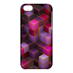 Cube Surface Texture Background Apple Iphone 5c Hardshell Case