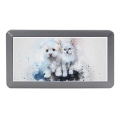 Cat Dog Cute Art Abstract Memory Card Reader (mini) by Celenk