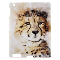 Leopard Animal Art Abstract Apple Ipad 3/4 Hardshell Case by Celenk