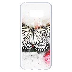 Butterfly Animal Insect Art Samsung Galaxy S8 Plus White Seamless Case