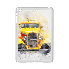 Car Old Art Abstract Ipad Mini 2 Enamel Coated Cases by Celenk