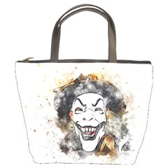 Mask Party Art Abstract Watercolor Bucket Bags by Celenk