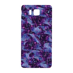 Techno Grunge Punk Samsung Galaxy Alpha Hardshell Back Case by KirstenStar