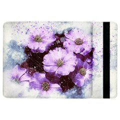 Flowers Purple Nature Art Abstract Ipad Air 2 Flip by Celenk